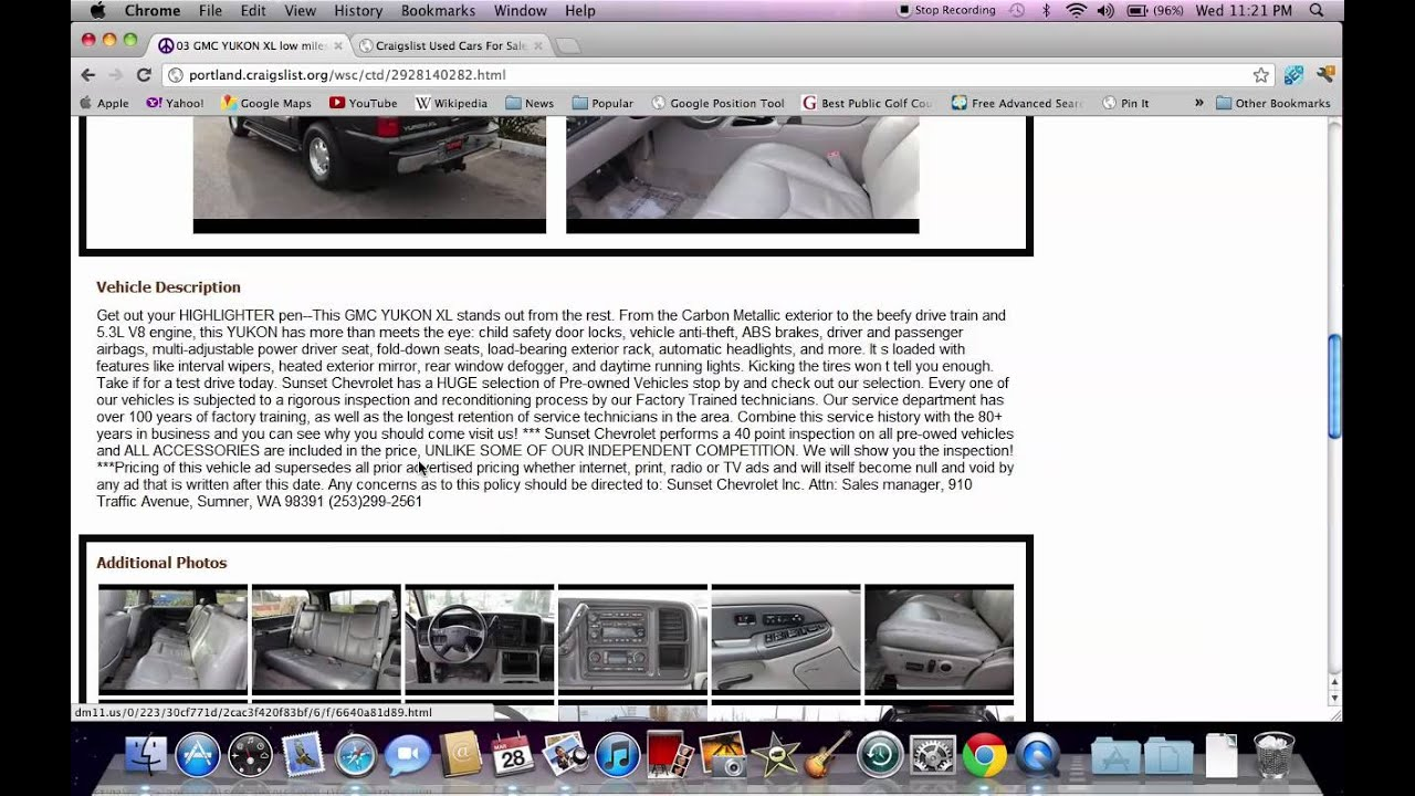 Craigslist Portland Oregon Used Cars And Ford And Dodge