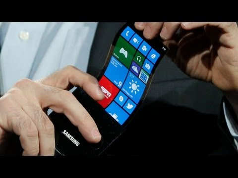 Samsung Curved Smartphone and Nokia's Last Press Event