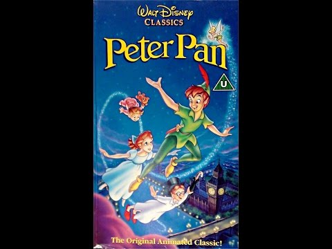 Digitized opening to Peter Pan (UK VHS 1993)