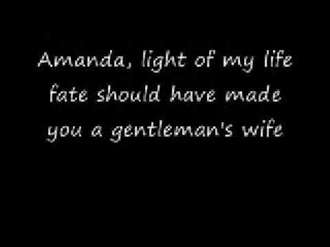 Waylon Jennings - Amanda Lyrics | MetroLyrics