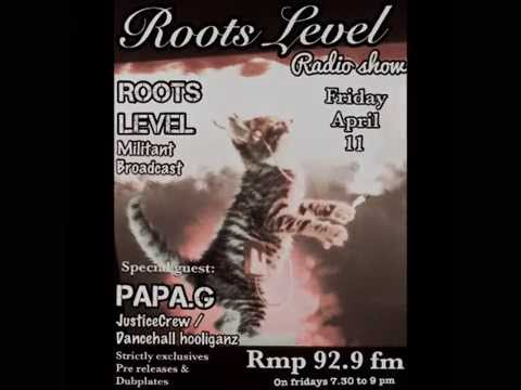 Papa G-roots level-rmp 92.9 fm-avril 2014-exclusives
