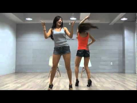 Sistar19 - Ma Boy mirrored practice