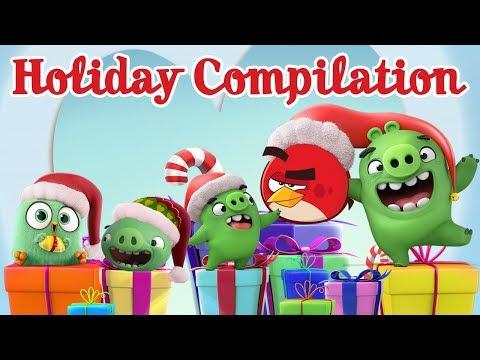 Angry Birds - vianočné časti