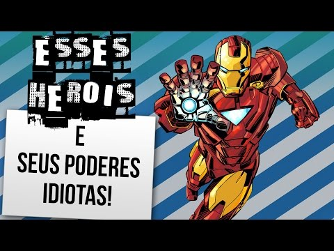 4 PODERES IDIOTAS DE SUPER-HERÓIS FAMOSOS   Ei Nerd