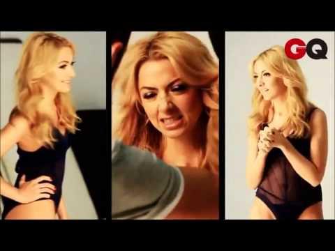 Hadise'nin GQ iç çamaşır Reklamı (kamera arkası)