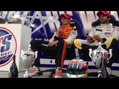Auto GP Press Conference in Donington Park 2013 Race 2