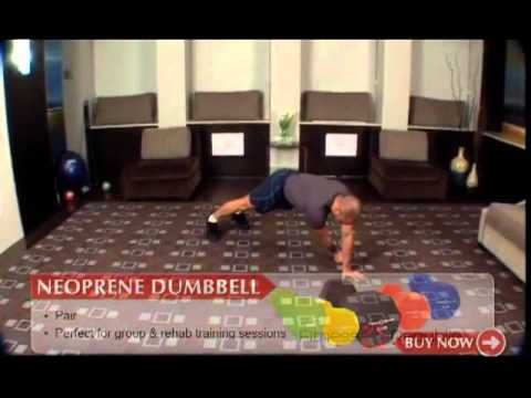 Crab Walk with Weight Push -- Slide - Fitness Republic