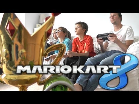 Mario Kart 8 - Family Championships with F1 Commentary (Round 1 of 5)