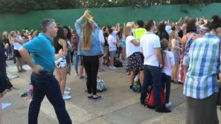 Cool Dad Dancing At Concert
