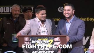 MAYWEATHER VS. MAIDANA 2 CHICAGO PRESS CONFERENCE HIGHLIGHTS