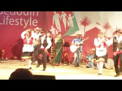 Goan Folk Dance at Dubai Shopping Festival 2014