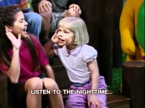 Barney - Listen To The Night Time Song