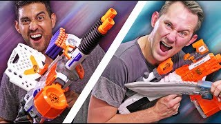 NERF Build Your Weapon! [Ep 3]