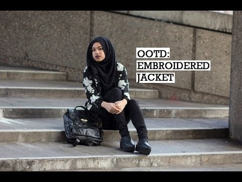 OOTD | EMBROIDERED JACKET
