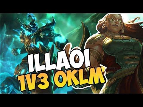 Hecarim Jungle & Illaoi  1v3 sans pression!