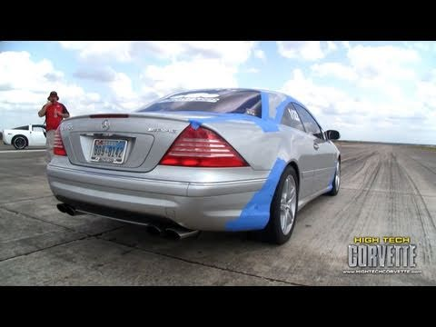 CL55 180mph pass at the Texas Mile - October 2010