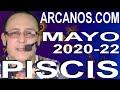 Video Horóscopo Semanal PISCIS  del 24 al 30 Mayo 2020 (Semana 2020-22) (Lectura del Tarot)