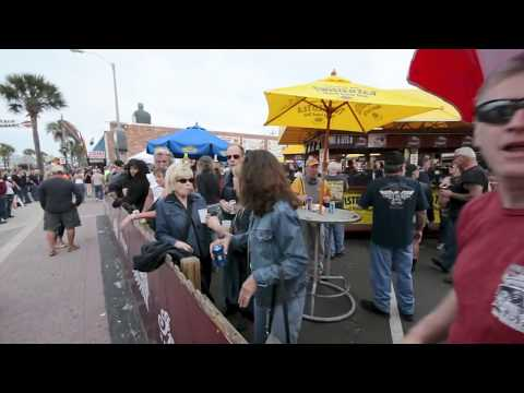 Daytona Bike Week 2014 Crazy Drunk People