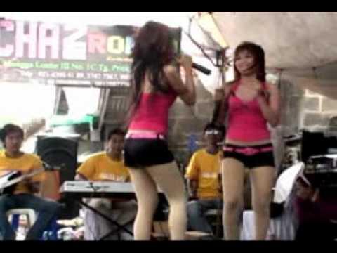 chacha romeo show in kampung kurus alamat palsu (duo ayam jago)