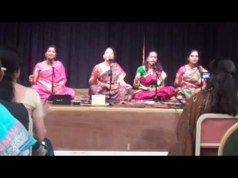 Jayanthi Umesh Students at Sanathana Dharma Kendra,San Jose