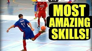 The BEST Street Football, Futsal, Freestyle Skills EVER!!