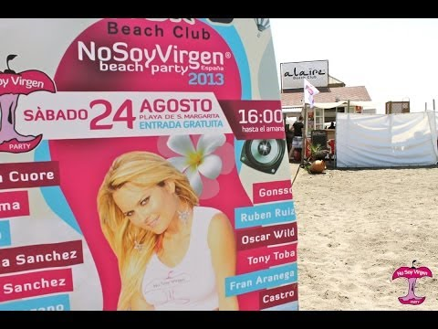 No Soy Virgen ® Beach Party en Alaire 2013