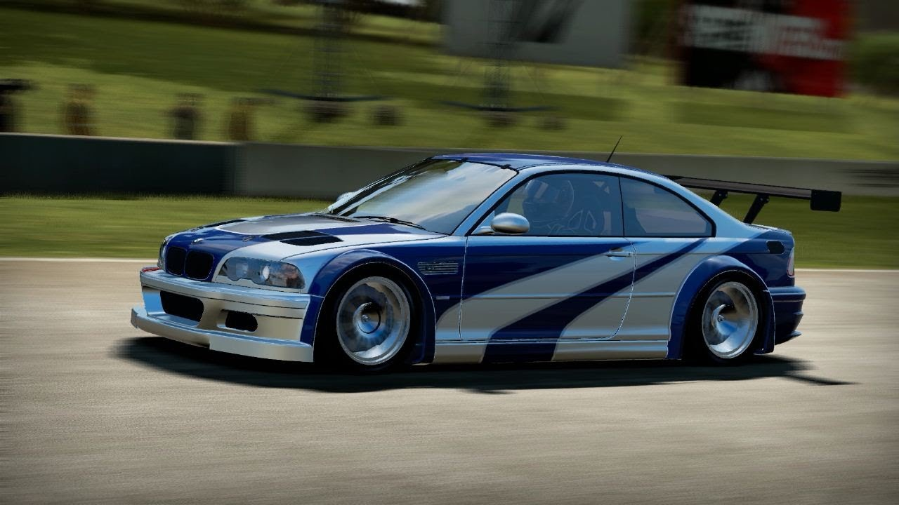 NFS Shift 2 Unleashed HD - BMW M3 GTR E46 Most Wanted ...