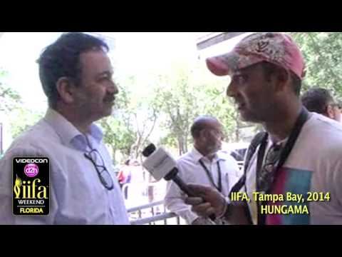 Rajkumar Hirani Exclusive At IIFA Tampa Bay USA