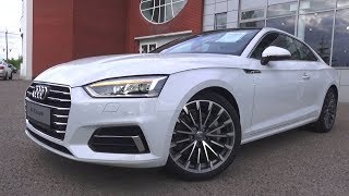2017 Audi A5 Coupe S-line. Start Up, Engine, and In Depth Tour.. MegaRetr