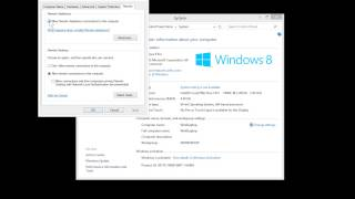 Windows 8 Remote Desktop And Remote Assistance Settings