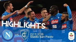 HL - Napoli V Empoli 5-1