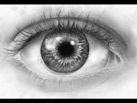 How To Draw A Realistic Eye Step By Step Youtube