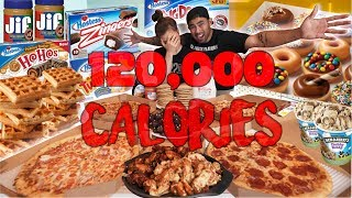 120,000 CALORIE CHALLENGE IN 48HRS!!
