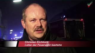 NRWspot.de | Iserlohn-Letmathe – Großbrand in der Gennaer Straße