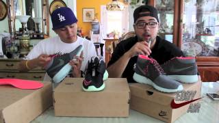 "Roshe Run Mid City Pack ""TOKYO"" And ""YEEZY"" Review"
