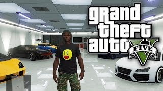 GTA 5 Online CHANGING UP THE GARAGE GAME! (GTA V Online