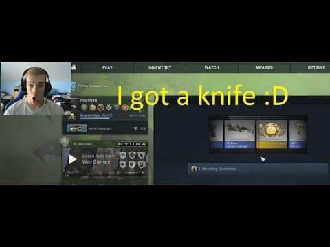 CS:GO Case Opening - I GOT A KNIFE!!!
