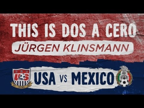 THIS IS DOS A CERO: Jurgen Klinsmann