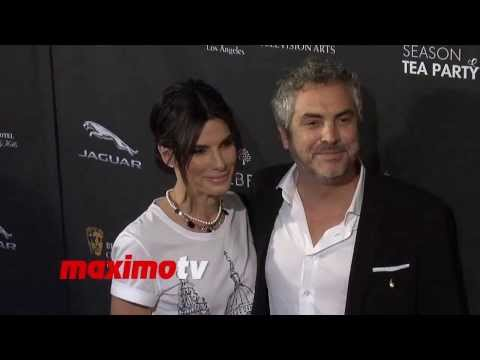 Sandra Bullock and Alfonso Cuaron 2014 BAFTA Los Angeles Awards Season Tea