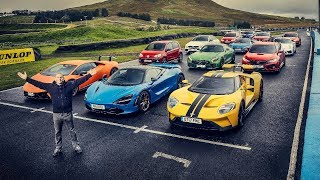 Performance Car Of The Year Contenders - Top Gear. Watch online.