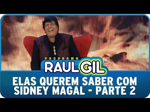 Programa Raul Gil (20/06/15) - Elas Querem Saber com Sidney Magal - Parte 2