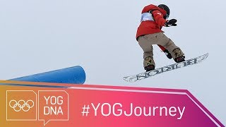 Chloe Kim [USA] - The Youth Olympic champion aiming for glory at PyeongChang #YOGjourney