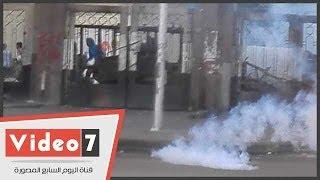 Hao123-بالفيديو.. لحظة فض الأمن لمظاهرة طلاب الإخوان فى الأزهر بالغاز