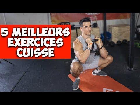5 MEILLEURS EXERCICES CUISSES ! (muscler et affiner)
