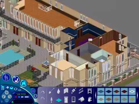 The Sims 1 House - Ridiculously Big, Holyshit, thanks for all the veiws guys c: dont forget to like, New house at 500 likes!