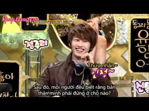 Video Vietsub kpop teen9x vn Strong heart Ep 62 Beast 2AM Super Junior 4   Clip Vietsub kpop teen9x vn Strong heart Ep 62 Beast 2AM Super Junior 4   Video Zing