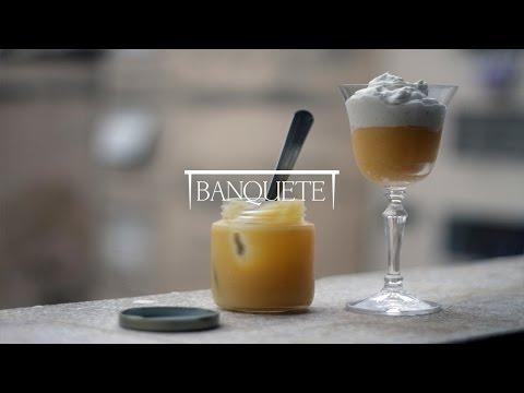 Creme de Limão Siciliano com Chantilly