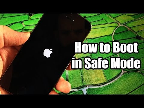 Cách thoát khỏi chế độ Safe Mode trên iphone , ipad