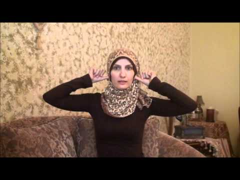 Hijab 2011-Tutorial # 17(Stylish Lacy Hijab)