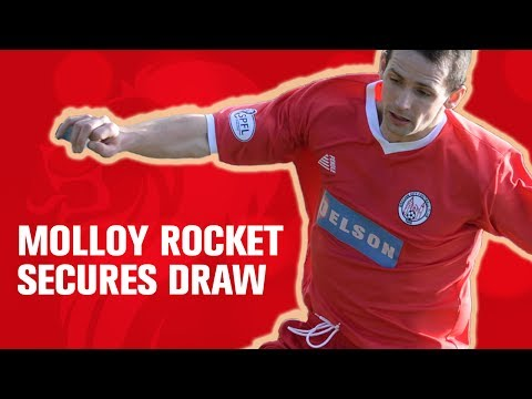 Molloy rocket secures draw for Brechin